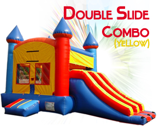 Double Slide slide combo in yellow