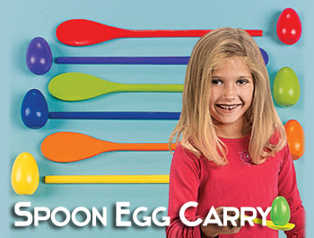 Spoon Egg Carry Game