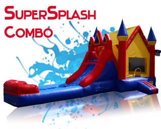 Super Splash combo waterslide
