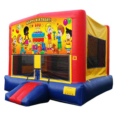 Happy Birthday Bounce House Jumper