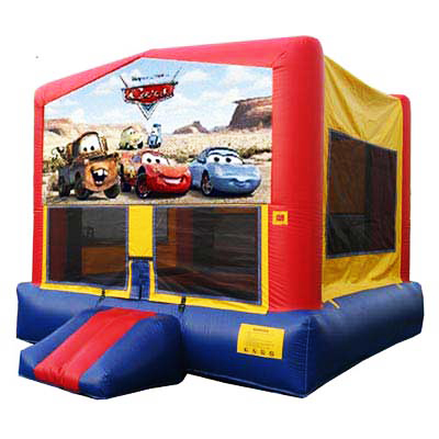 Cars Bounce House Jumper