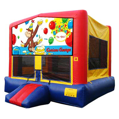 Curious George Bounce House Jumper