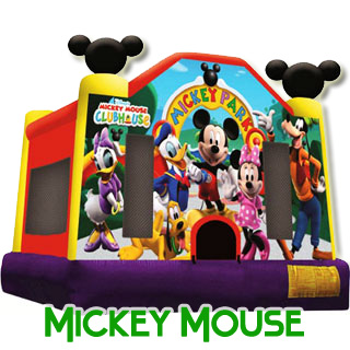 Mickey Mouse Club Bouncer