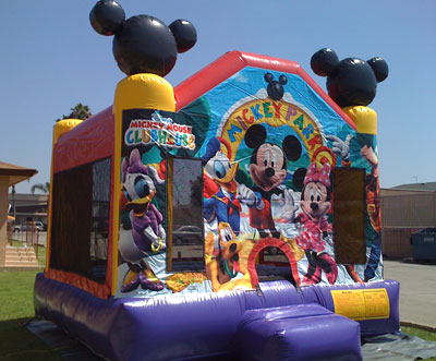 Mickey Mouse Bouncer