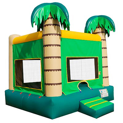 Palm Tree Tropical Bounce House Jumper