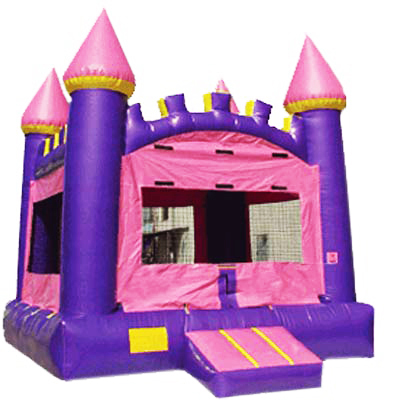 Pink Castle Jumper Bounce House