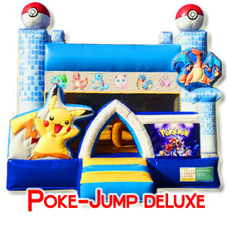 Pokemon Deluxe Bouncer