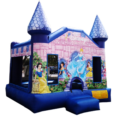 Disney Princess Castle Bounce House Jumper