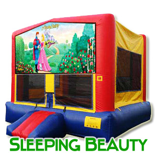 Sleeping Beauty Bouncy House