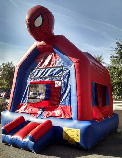 Spiderman 3D Jumper Bouncer