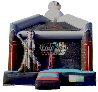 Star Wars Deluxe Jumper Bouncer Inflatable Bounce House