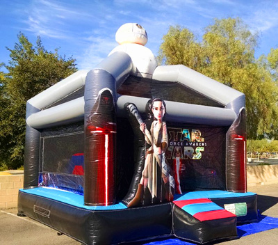 Star Wars Deluxe Bounce house jumper