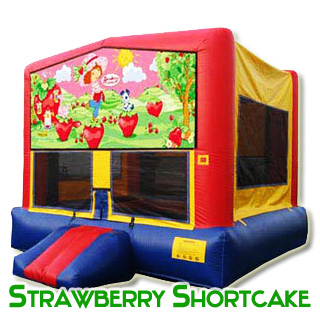 Strawberry Shortcake Bouncy House