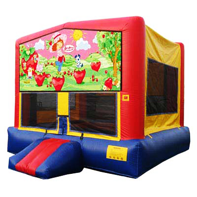 Strawberry Shortcake Bounce House Jumper