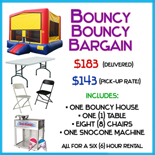 Bouncy Bargain Bounce House Package