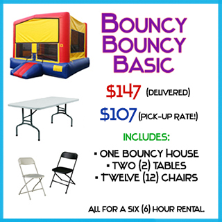 Bouncy Basic Bounce House Package