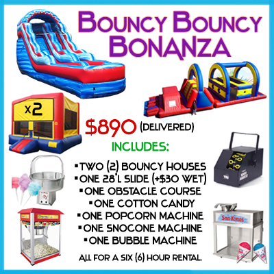 Inflatables Bouncers Jumpers Bounce House Packages