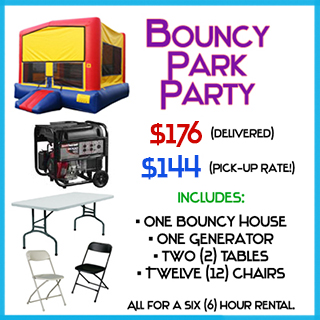 Bouncy Park Bounce House Package