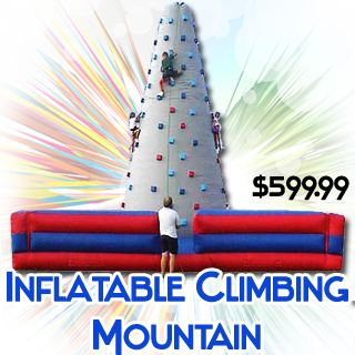 InflatableRock Climbing Mountain Wall