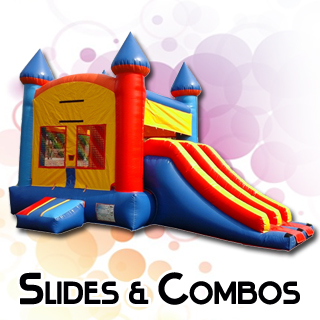 Inflatable Slides and Bounce Combos