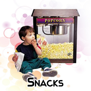 Popcorn machine sno cone maker rental