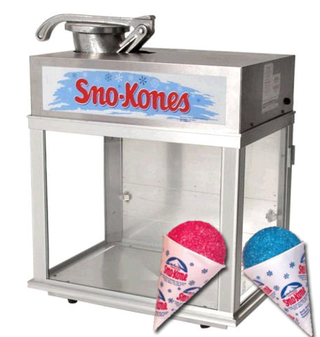 Sno Cone Machine rental