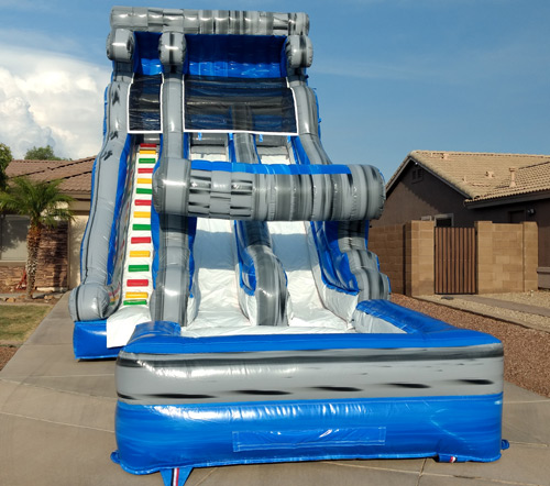 Inflatable Water Slide Az: Tidal Wave Double Water Slide Gilbert, Mesa, Chandler