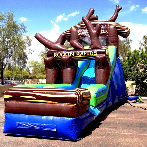 Raging Rapids Xtreme Inflatable Water Slide: Rockin Rapids Inflatable Water Slide Gilbert, Mesa